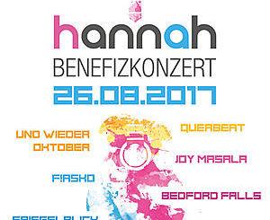 Hannah-Stiftung Benefizkonzert